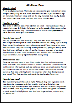 Report writing help introduction ks2